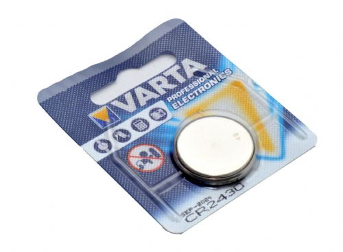 1 x Varta CR2430 Lithium Button Cell 3v Battery for Clocks Calculators Car Fob